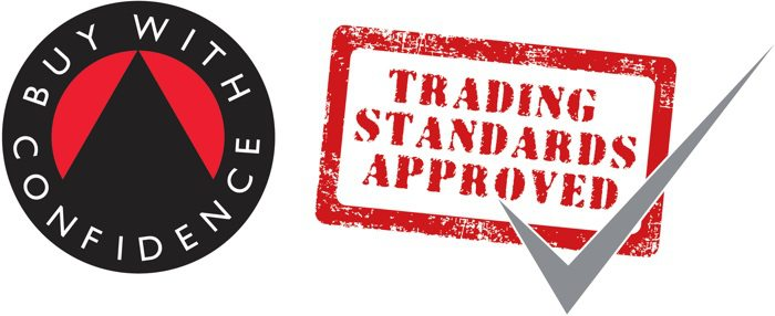 Buy With Confidence and Trading Standards Approved Logos